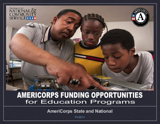 AmeriCorps Education Presentation FY2011