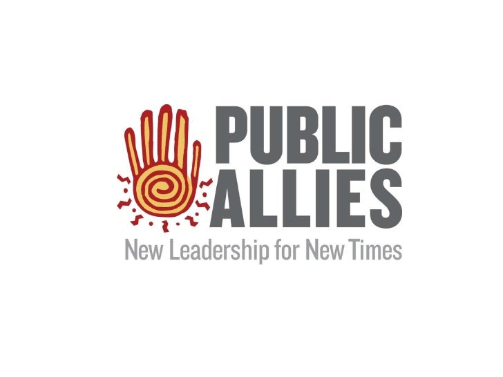 Intro to Americorps and Public Allies