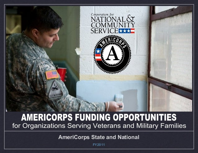 AmeriCorps State and National FY2011