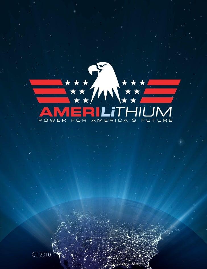 Amerilithium Q1 Presentation