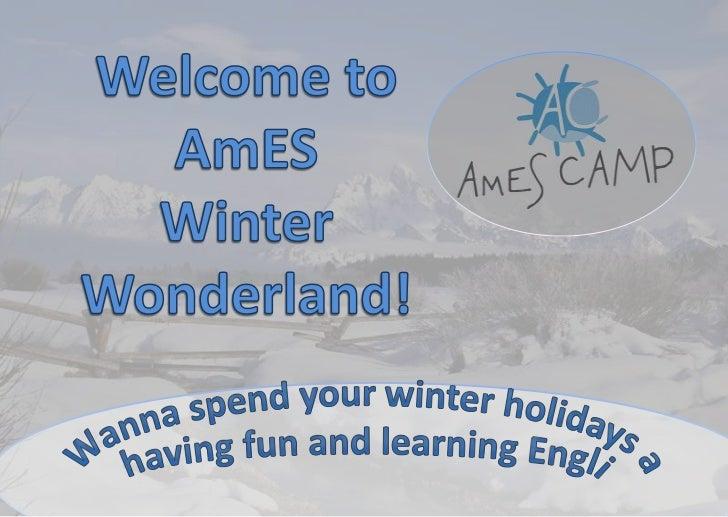AmES Winter Wonderland