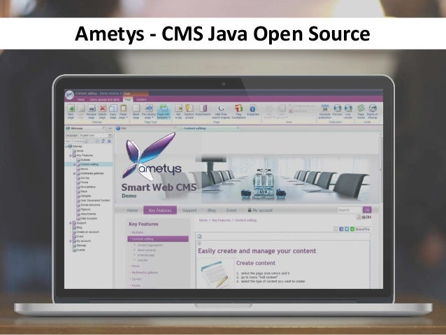 Ametys - CMS Java Open Source