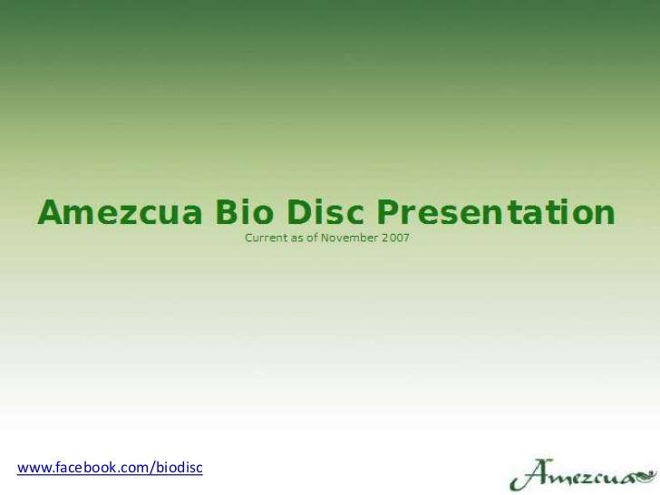 www.facebook.com/biodisc<br />