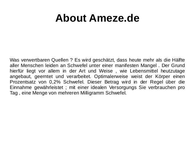 About Ameze.de Was verwertbaren Quellen ? Es wird geschätzt, dass heute mehr als die Hälfte aller Menschen leiden an Schwe...