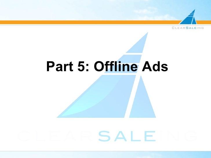 The Attribution Management Forum: Part 5 Offline Ad