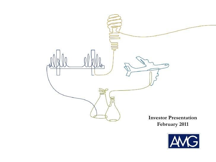 Investor Presentation<br />February 2011<br />