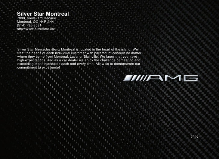 2010 Mercedes Benz SLK 55 AMG Montreal Canada