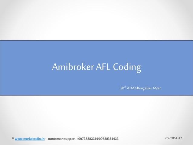 Rotational trading system amibroker