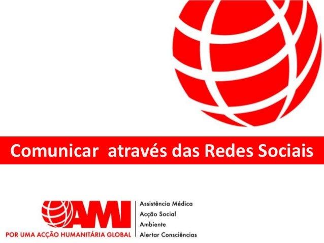 Comunicar através das Redes Sociais