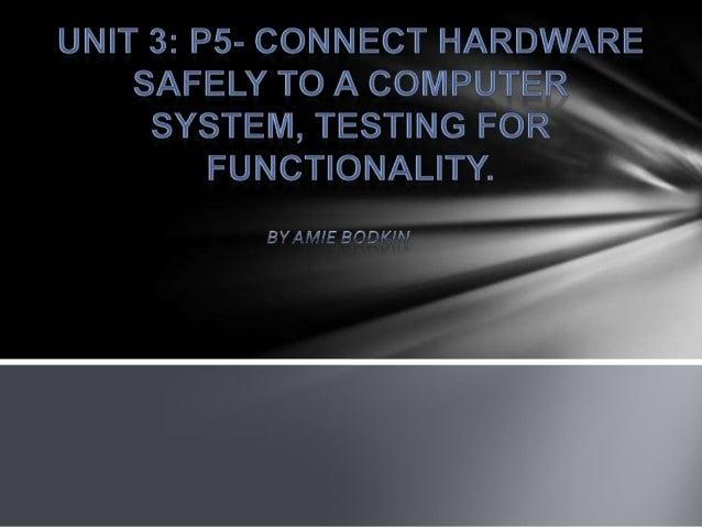 Amie: Unit 3 P5