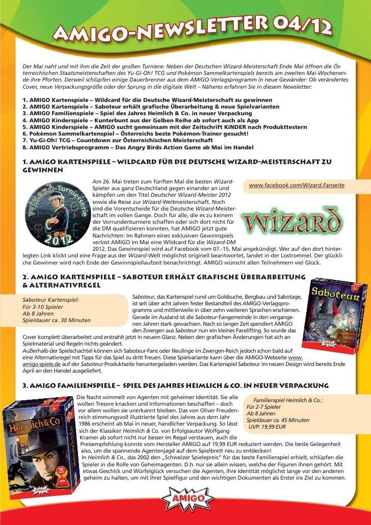 Der Mai naht und mit ihm die Zeit der großen Turniere: Neben der Deutschen Wizard-Meisterschaft Ende Mai öffnen die Ös-ter...
