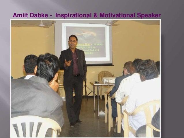 Amiit Dabke - Inspirational & Motivational Speaker