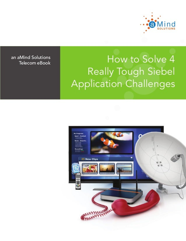 an aMind Solutions Telecom eBook www.aMindSolutions.com How to Solve 4 Really Tough Siebel Application Challenges