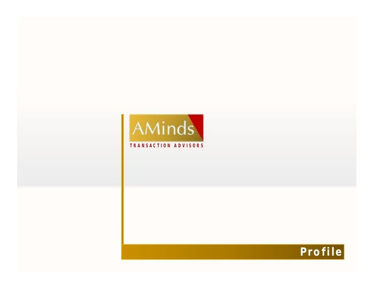 Aminds Advisors - Profile