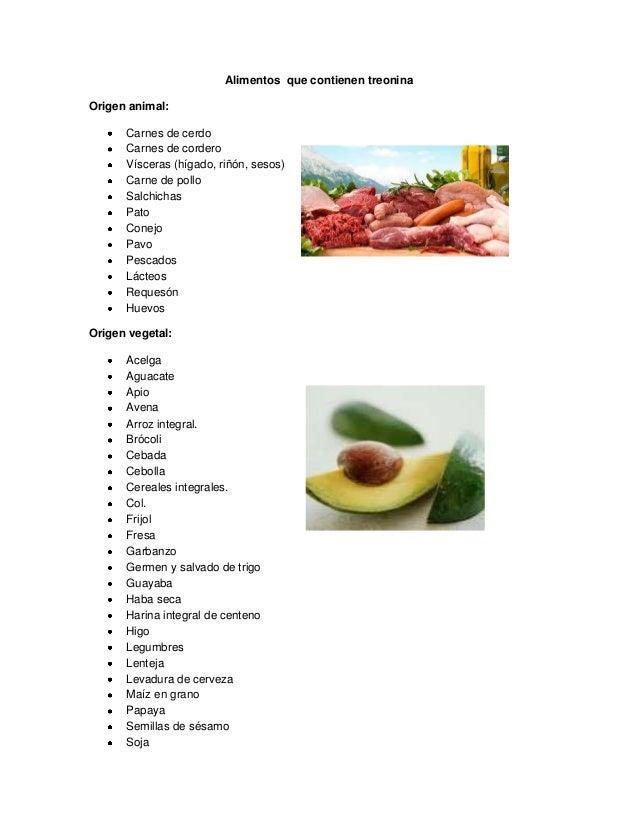 Amino cidos esenciales los alimentos que lo contienen - Hierro alimentos que lo contienen ...