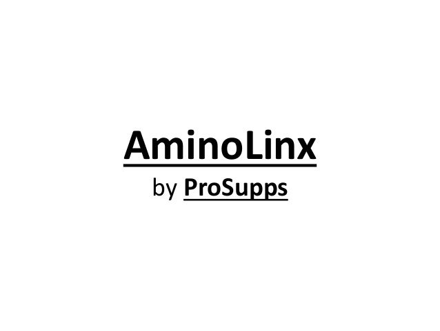 AminoLinx by ProSupps