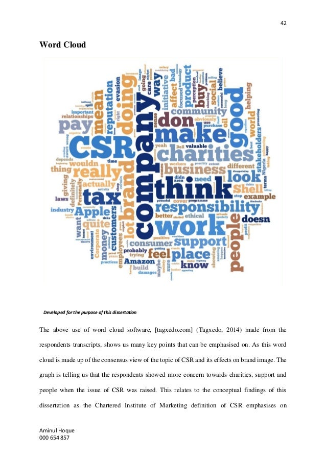csr thesis abstract A study of current practice of corporate social responsibility abstract there has been a this thesis has been prepared according to the regulations for.