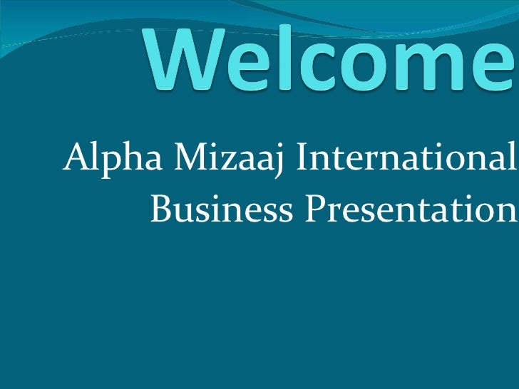 Ami presentation