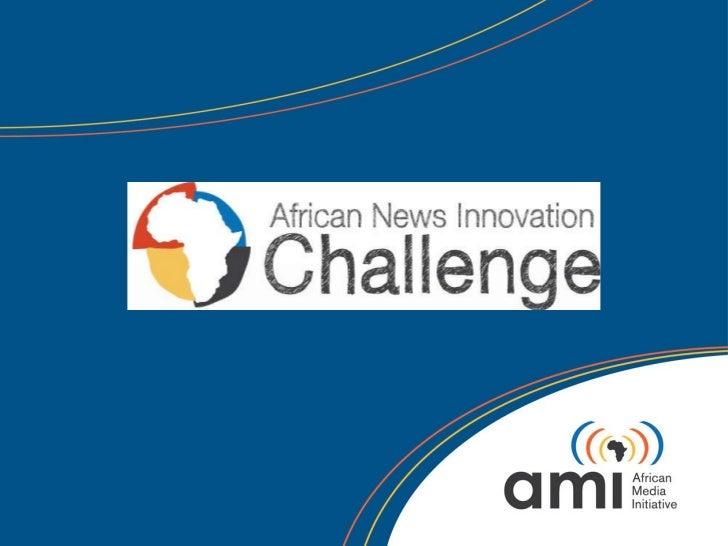 African News Innovation Challenge (ANIC)