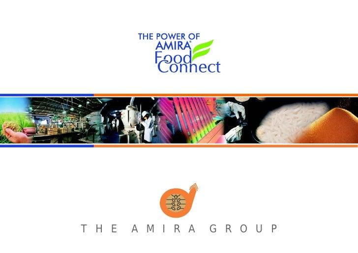 Amira foods coroporate booklet