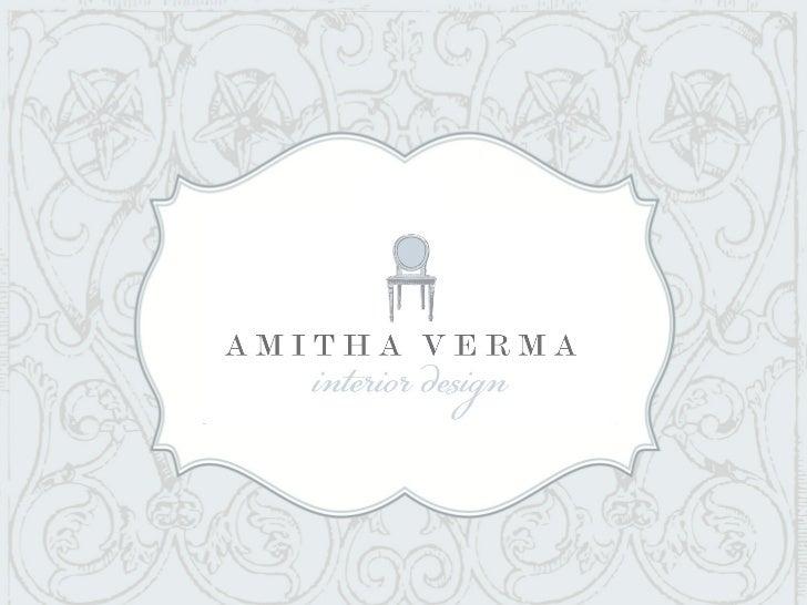 Amitha Verma Interior Design