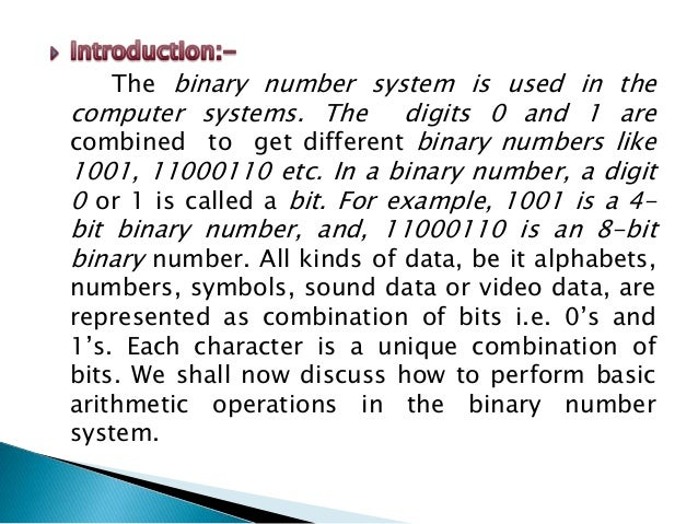 an analysis of the binary number system in the mathematics An analysis of the binary number system in the mathematics pages 2 words 508 view full essay more essays like this: binary number system, binary number, binary arithmetic not sure what i'd do without @kibin - alfredo alvarez, student @ miami university exactly what i needed.