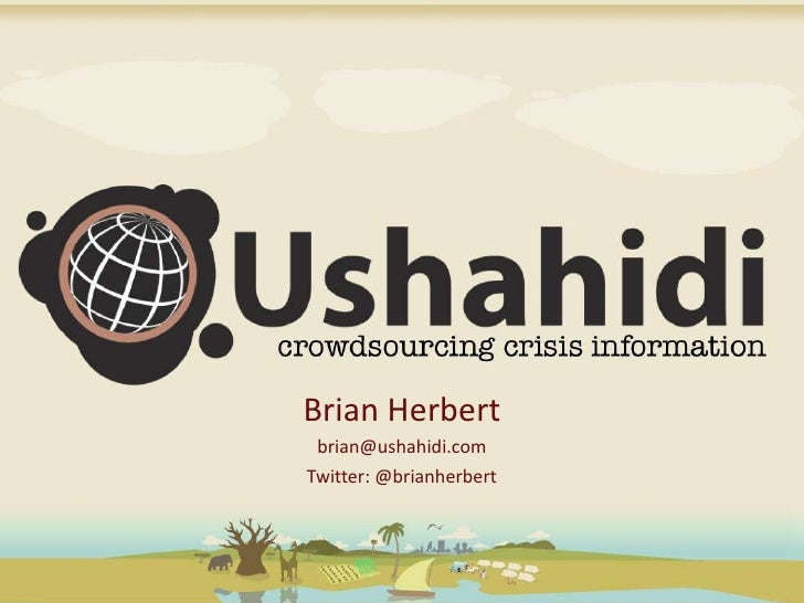 Ushahidi Ignite at Mobdata