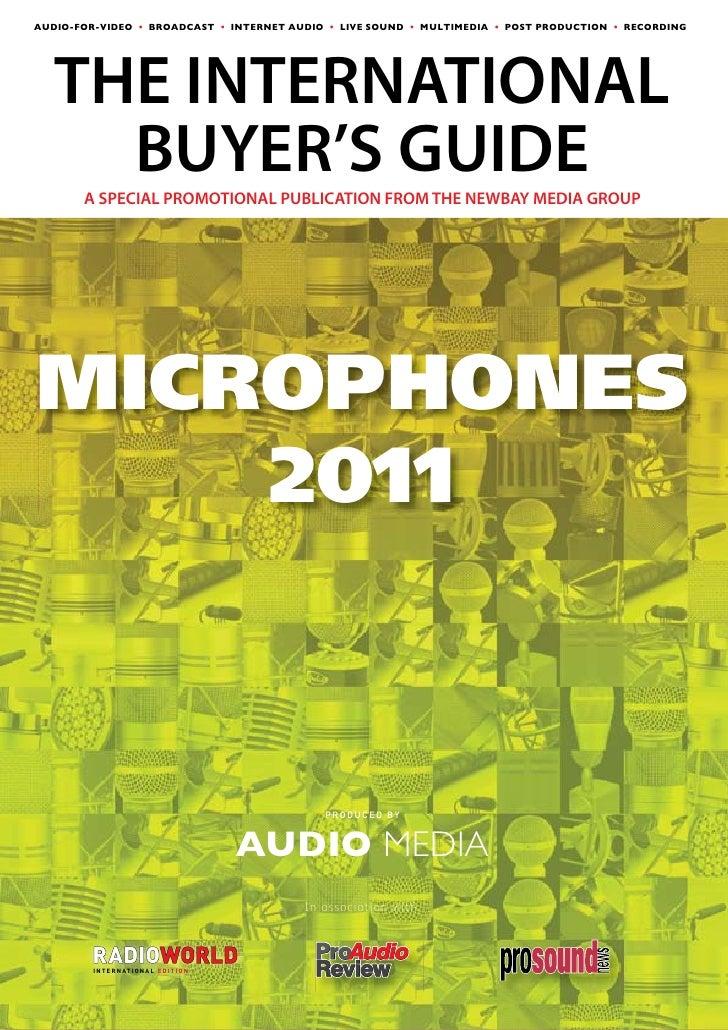 AudioMedia Microphone Guide 2011