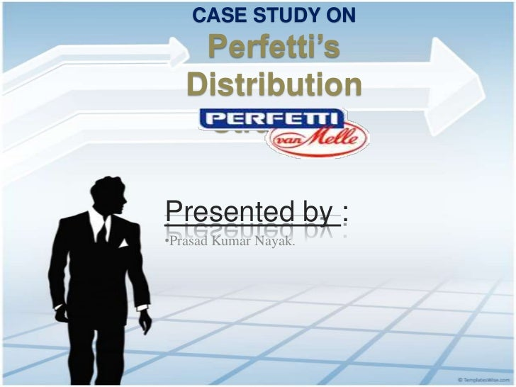 Distribution system of Perfetti