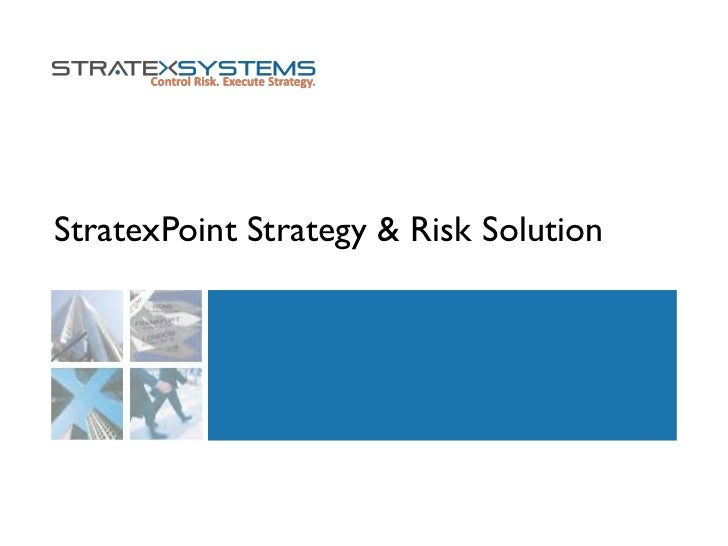 StratexPoint Strategy & Risk Solution