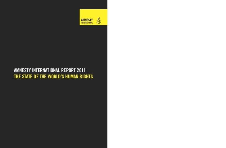Amnesty arsrapport-2011