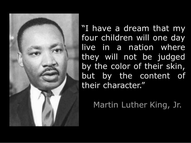 dream essay have i king luther martin