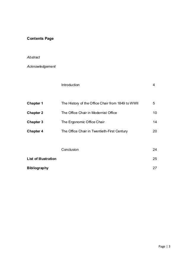 Dissertation chair definition