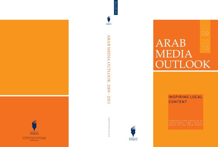 Arab Media Outlook 2009-2013 - Inspiring Local Talent