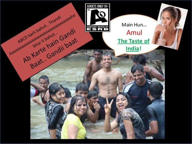 Main Hun…  Amul The Taste of India!