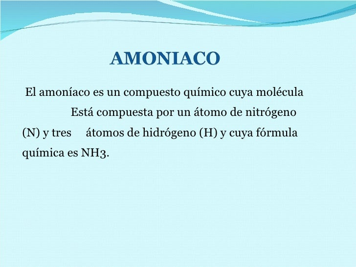 Proceso del Amoniaco  y Riesgos