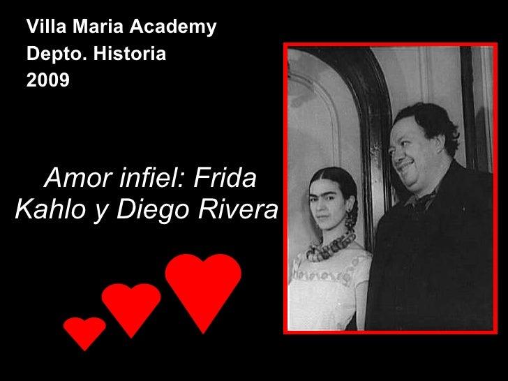 Amor Infiel Frida Kahlo Y Diego Rivera.