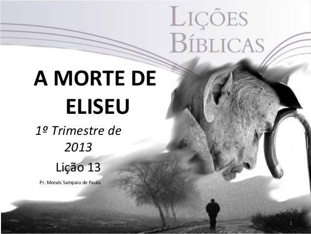 A morte de Eliseu
