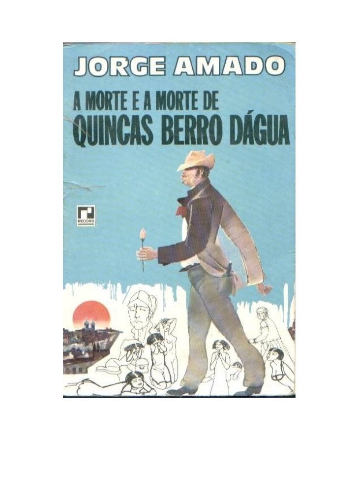 A morte e a morte de Quincas Berro Dágua