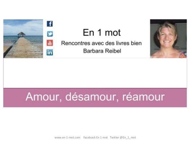 www.en-1-mot.com Facebook En 1 mot Twitter@En_1_mot