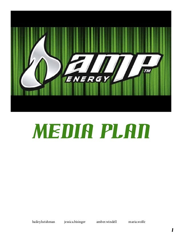 AMP Energy Media Flight Plan
