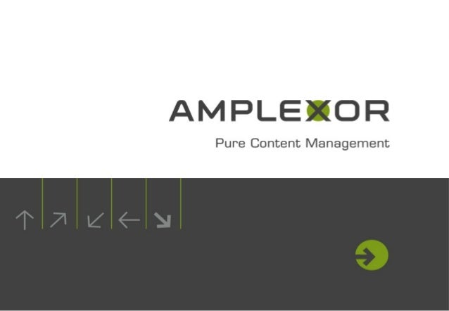 Amplexor Alfresco ECM Solutions Seminar - Adaptive Case Management using Workdesk