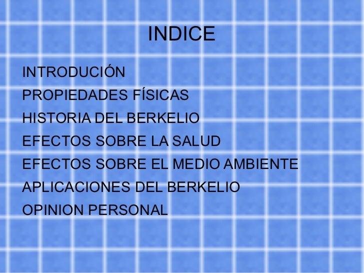 INDICE <ul><li>INTRODUCIÓN