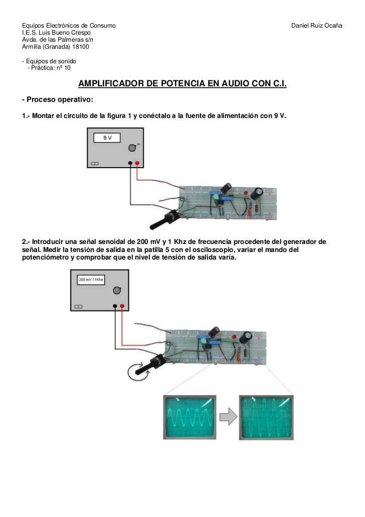 Equipos Electrónicos de Consumo                                                          Daniel Ruiz OcañaI.E.S. Luis Buen...