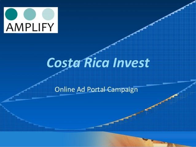 Company LOGO Costa Rica Invest Online Ad Portal Campaign