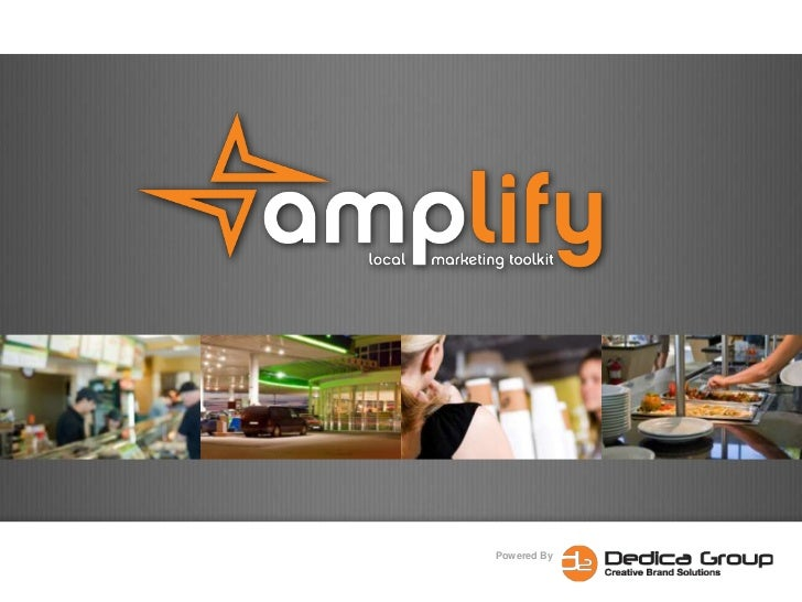 Amplify Local Store Marketing - The complete Local Store Marketing Toolkit
