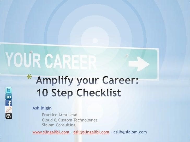 *Asli Bilgin     Practice Area Lead     Cloud & Custom Technologies     Slalom Consultingwww.slingalibi.com – asli@slingal...