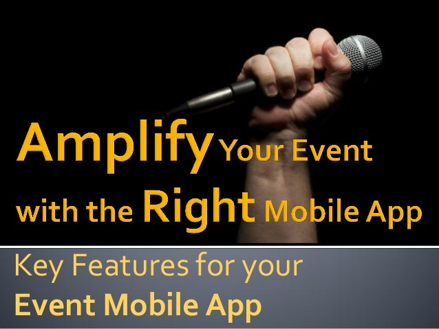 Key Features for your Event Mobile App
