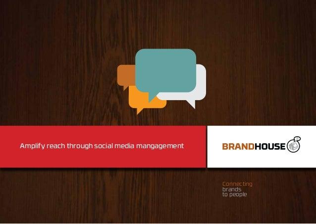 Amplify your social media reach