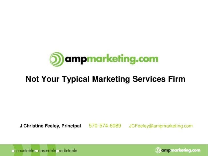 Amp marketing overview-v1